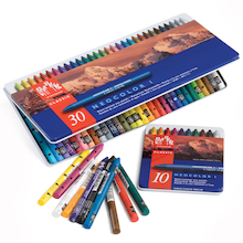 Caran D'ache Neocolour I Assorted Wax Pastels  medium