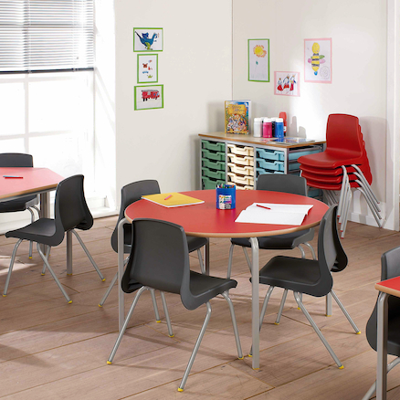 Circular Crush Bent Tables  large