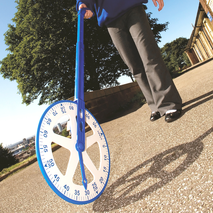 Buy Plastic Trundle Wheel With Counter Tts