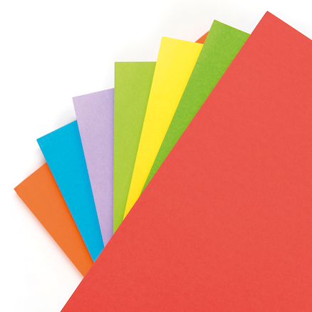 Single Coloured Card  large