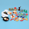 Role Play Plastic Multicultural Food Sets  small