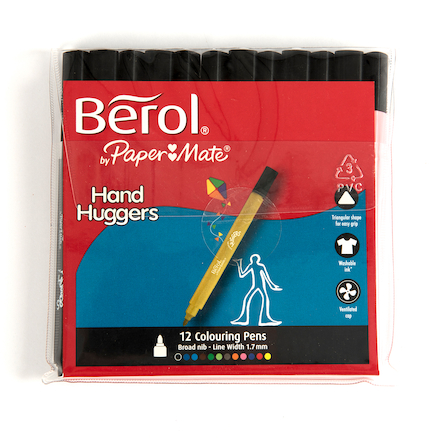 Berol Handhugger Assorted Colouring Pens  large