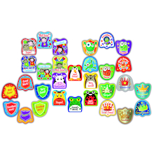 Assorted Shaped Reward Stickers 750pk  medium