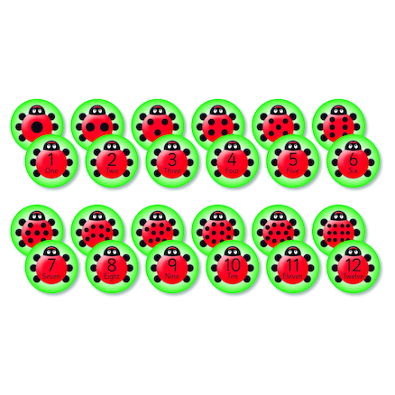 Ladybird Counting Cushions 12pk  large