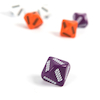 Plastic Place Value Dice Millions 6pk  small