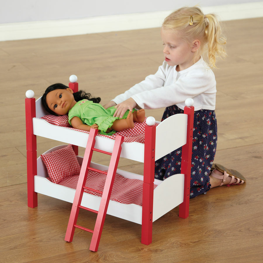 Buy Role Play Dolls Bunk Beds Tts