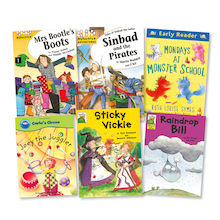 Mixed Ability Guided Reader Books 42pk  medium