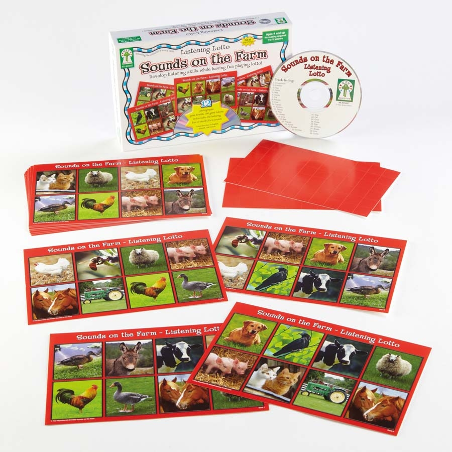 Buy Listening Lotto Game With Audio Cd And Cards Tts