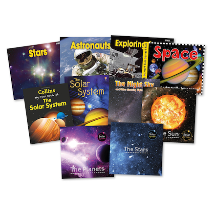 KS1 Solar System Books 10pk  large
