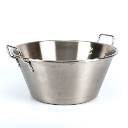 Giant Metal Outdoor Bowl  large