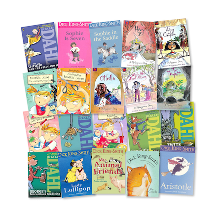 KS2 Celebrated Author Books 20pk  large