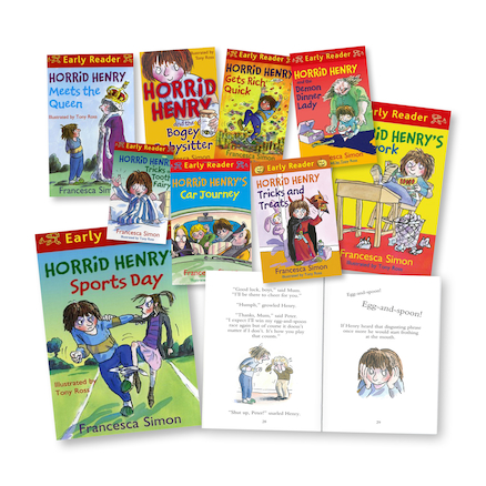 Horrid Henry Early Reader Books 9pk  large