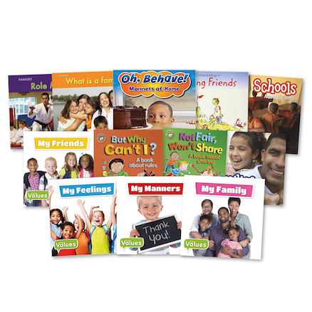 Promoting British Values Books 12pk  large