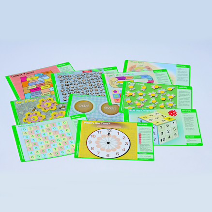 Broadbent's Table Top Numeracy Games Pack  large
