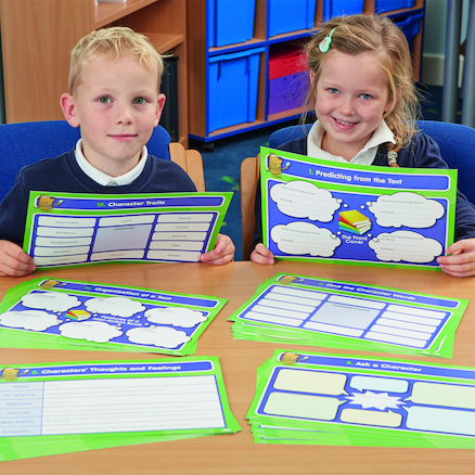 Developing Inference and Comprehension Activity Cards  large