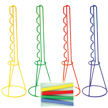 Coloured Wire Skittles Set 4pk  large