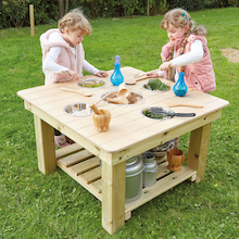 Outdoor Messy Activity Wooden Table  medium