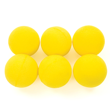 7cm Foam Balls 6pk  medium