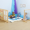 Wooden Activity Screen Room Dividers 3pk  small