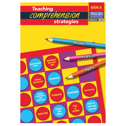 Teaching Comprehension Strategy Book  large