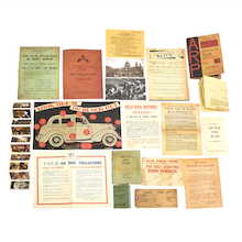 WW2 Blitz Documents Facsimile Pack  medium