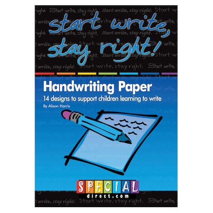 Using Handwriting Paper
