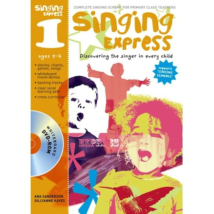 Singing Express Book and DVD  large