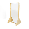 Wooden Framed Freestanding Carnival Mirrors  small
