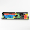 TTS Multi-coloured Lowercase Keyboard  small