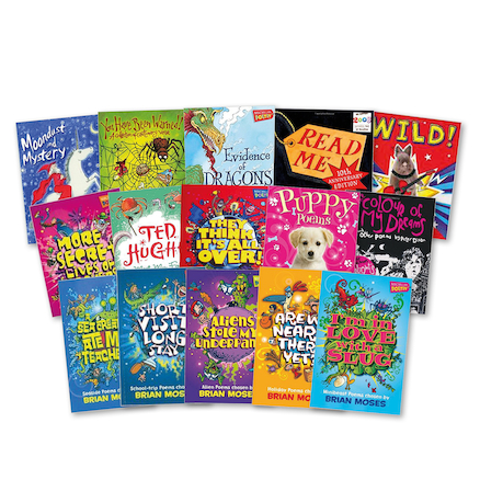 KS1 and KS2 Poetry Books 15pk  large