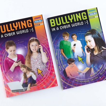 KS1 and KS2 Bullying in a Cyber World Books  large