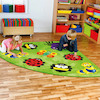 Back to Nature Corner Rug L2 x W2m  small