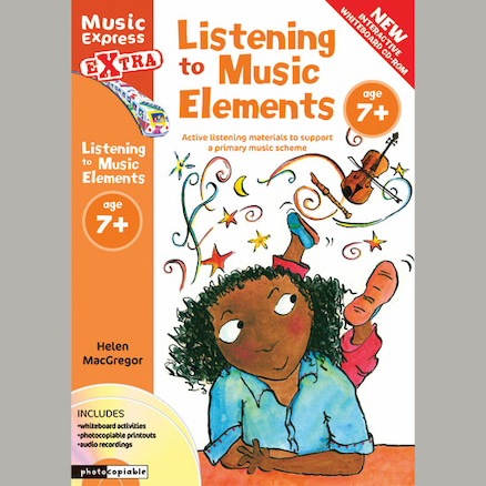 Listening To Music Elements Book and CD 7+  large