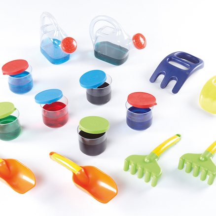 Toddler Sand and Water Set 14pcs  large