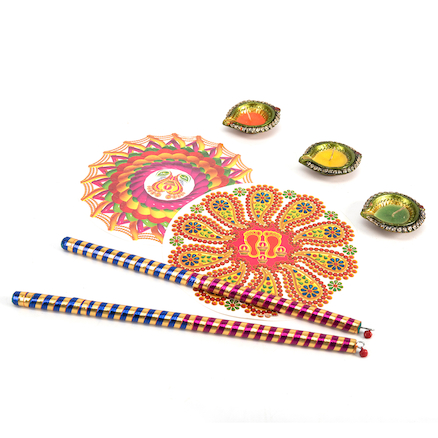 Diwali Festival Artefacts Collection  large