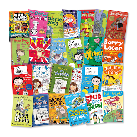 KS2 Humorous Reading Books 25pk  large