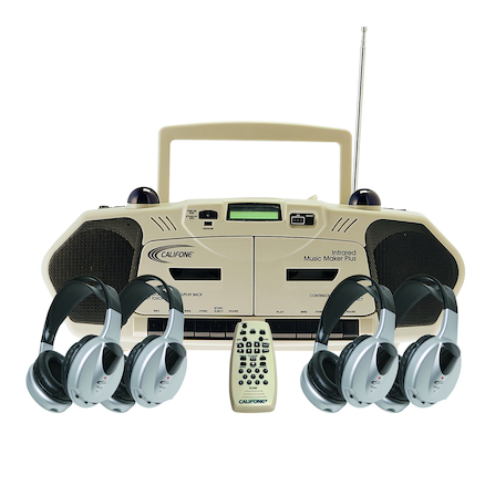 Califone Infrared CD Player with Headphones  large