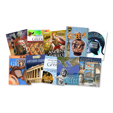 The Ancient Greeks Books 20pk  large