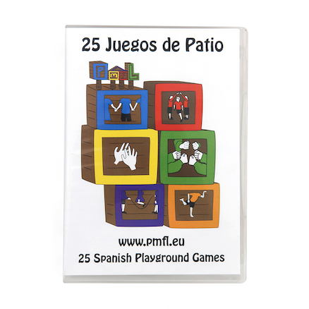 25 Spanish Playground Games DVD  large