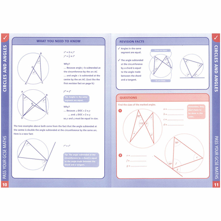 Pass Your GCSE Maths Shape And Symmetry Book  large