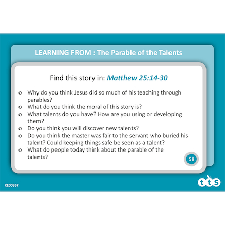 Bible Stories Lesson Opener Activity Cards  large