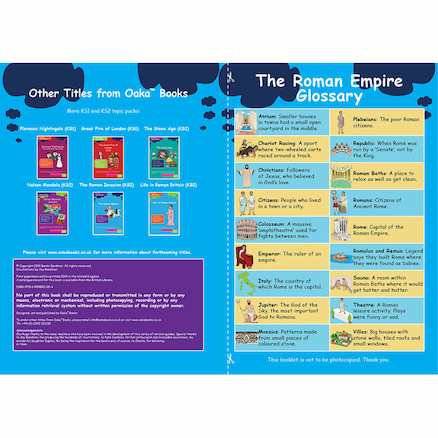 KS3 The Roman Empire Revision Activity Cards 10pk  large