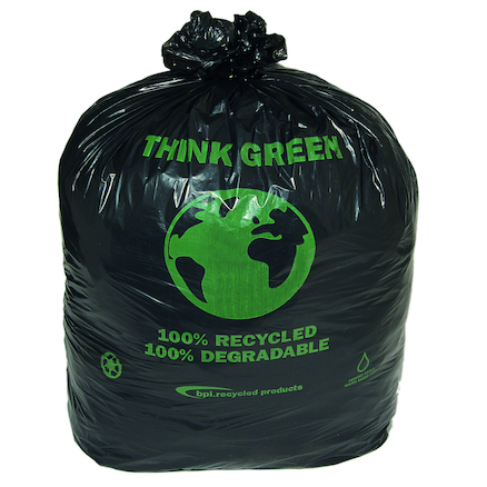 Extra Capacity Compostable Bin Bag 200pk  large