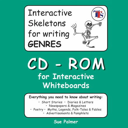 Genre Skeleton CD-ROM by Sue Palmer  large