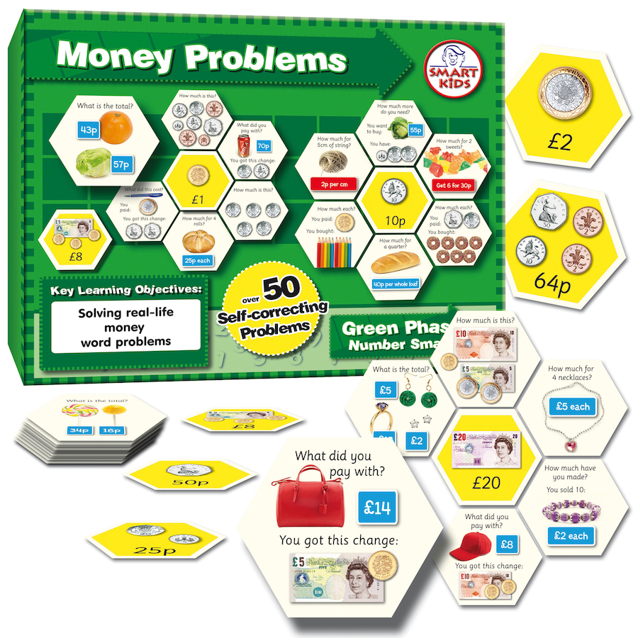 money problems A lesson on money word problems includes problems requiring all 4 operations, multi-step problems, and money problems with fractions includes examples and worksheets.