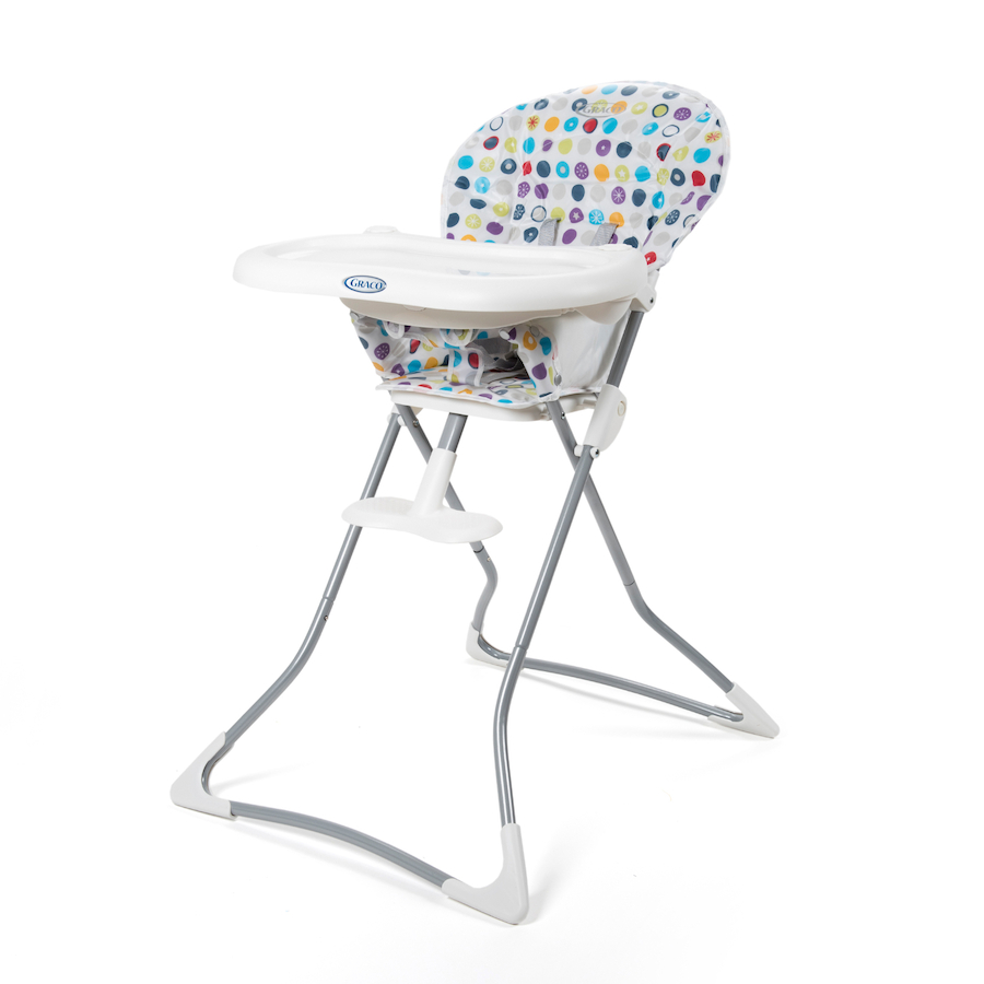 Buy Folding Patterend Baby High Chair