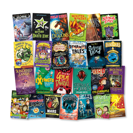 Year 6 Fantasy, Adventure and Sci-Fi Books 10pk  large