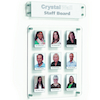 Crystal Wall Staff Members Boards  small