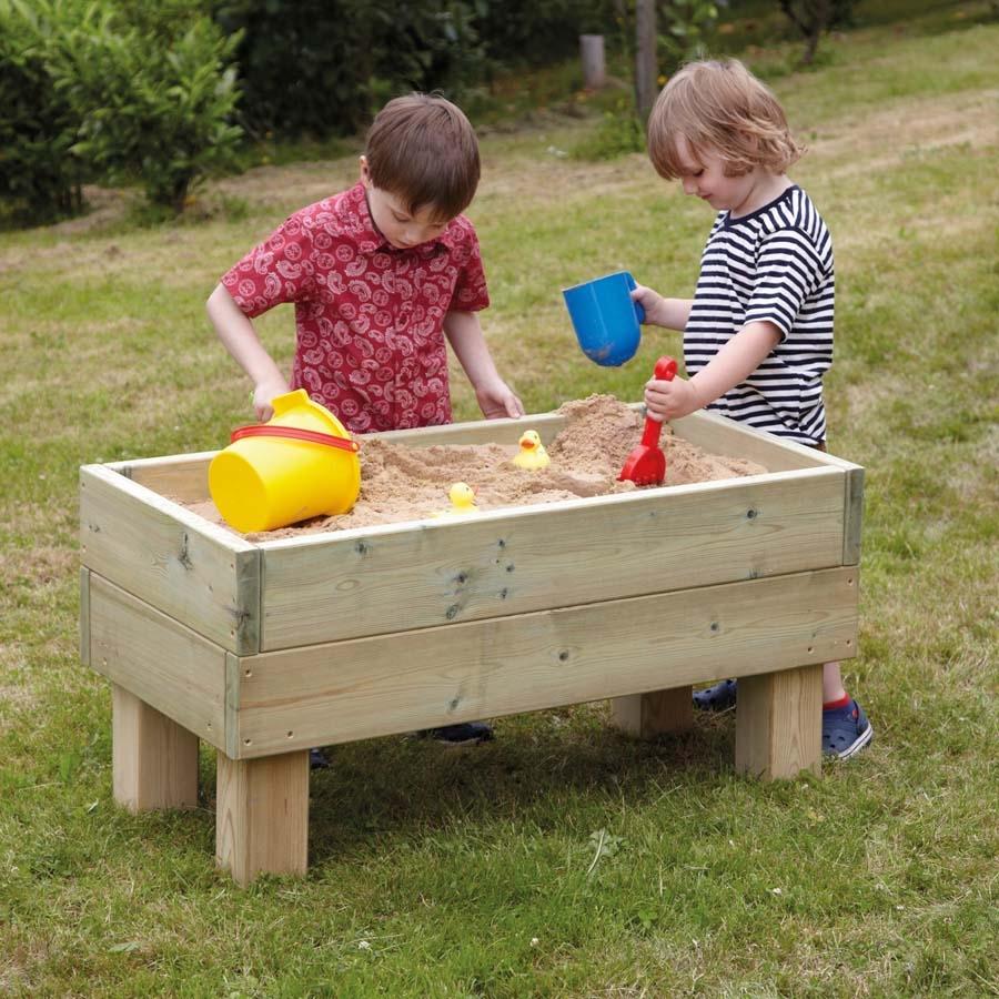 Buy Free Standing Wooden Sandpit TTS