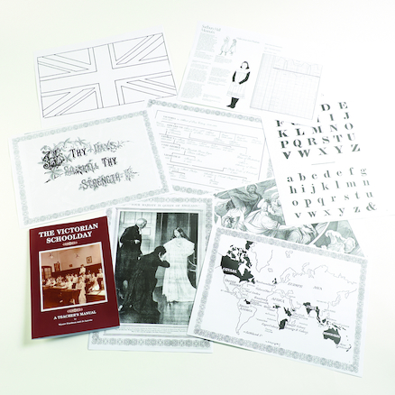 Victorian Schoolday Teaching Resource Pack  large